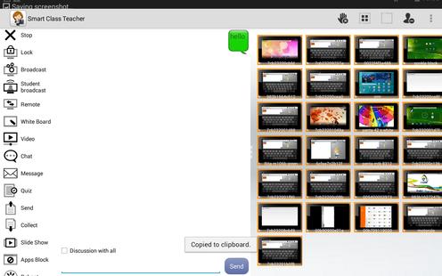 Screenshots - Radix SmartClass Student