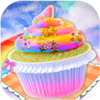 Rainbow Cupcake Cooking Game 2018: Sweet Desserts