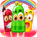 Rainbow Ice Candy Kids Cooking Game 2020