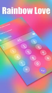 Screenshots - Rainbow Love - Emoji Keyboard