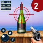Real Bottle Shooting Games 3d :Free Shooting Games