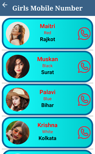 Screenshots - Real Girls Mobile Number (Prank)