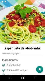 Screenshots - Receitas Veganas em Português
