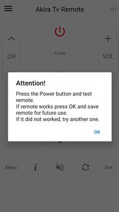 Screenshots - Remote Control For Tv