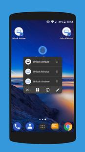 Screenshots - Remote Fingerprint Unlock