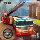 🚒 Rescue Fire Truck Simulator: 911 City Rescue