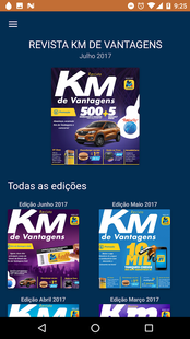 Screenshots - Revista Km de Vantagens