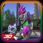 Rider Fighters Ex-Aid Henshin Gamer Legend 3D