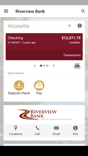 Screenshots - Riverview Bank