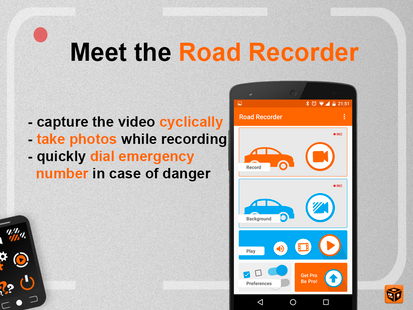 Screenshots - Road Recorder PRO - Your blackbox for your trip!