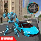 Robot Car Super Transforme Futuristic Supercar