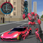 Robot Car Super Transforme Futuristic Supercar