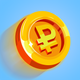Rouble - idle money game business clicker