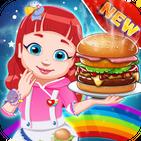 Ruby Burger Rainbow