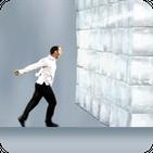 Run Man Run: Vector Man Smash The Ice Wall