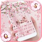 Sakura Floral Keyboard Theme