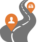 Same-Way carpooling connecting for people & goods