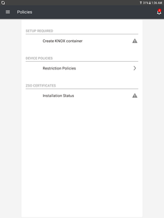 Screenshots - Samsung SDS IAM&EMM