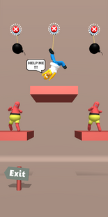Screenshots - Save the Dude! Rope Puzzle Game