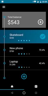 Screenshots - Savings Goals Tracker