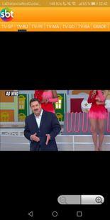 Screenshots - SBT Sistema brasileiro de Televisão