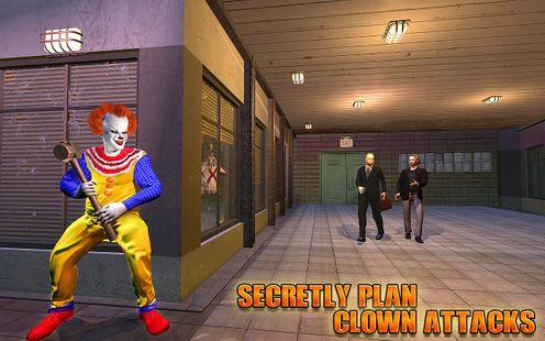 Screenshots - Scary Clown Prank Attack Sim: City Clown Sightings