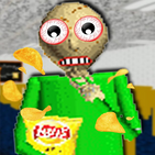 Scary Fear Math Teacher Loves Chips Mod Learns
