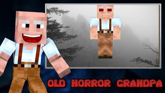 Screenshots - Scary Grandpa Craft  - Old Horror Return