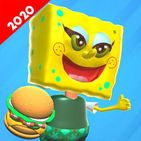 Scary Sponge Neighbor 3D - Secret Escape Games