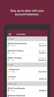 Screenshots - SCFCU Mobile