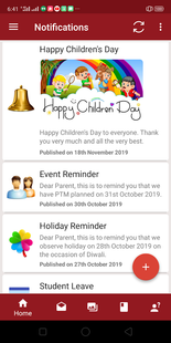 Screenshots - School Unique Parent App