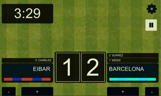 Screenshots - Scoreboards Football