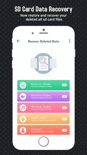 Screenshots - Sd Card recovery