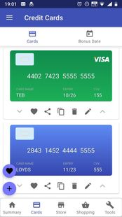 Screenshots - Secure Digital Wallet