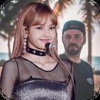 Selfie Photo with Lisa – Blackpink Wallpapers
