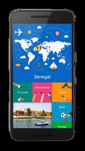Screenshots - Sénégal Actualités