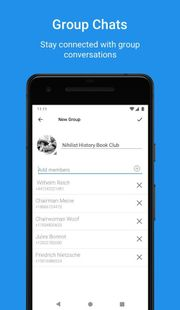 Screenshots - Sgnl Plus Messenger | Private Group Video Calls