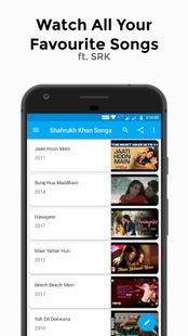 Screenshots - Shahrukh Khan Songs