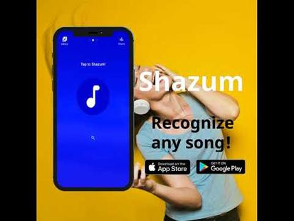 Video Image - Shazum - Recognize Music, Discover Songs & Artists