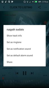 Screenshots - Sheikh Sudais Full Ruqyah mp3