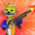 Shooting Pets Sniper - 3D Pixel Gun games for Kids
