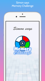 Screenshots - Simon says - Memory Challange