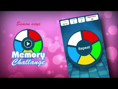 Video Image - Simon says - Memory Challange
