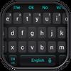 Simple Cool Black Keyboard Theme
