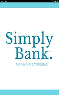 Screenshots - SimplyBank