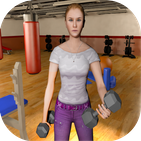 Single Mom Fitness Game: Virtual lifestyle Of Girl