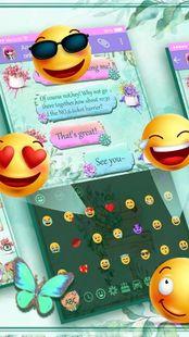 Screenshots - SMS Garden Keyboard Theme