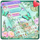 SMS Garden Keyboard Theme