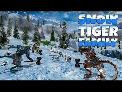 Video Image - Snow Tiger Family