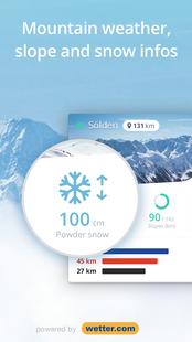 Screenshots - Snowthority: ski, snow, lift, slope map & ski info